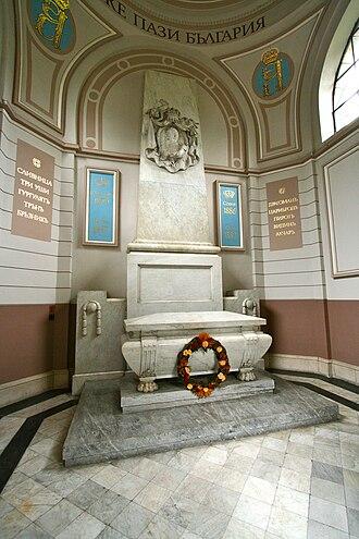 Battenberg Mausoleum - Interior of the mausoleum
