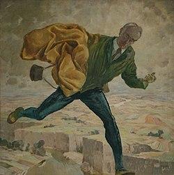 Max Frey - (Selbstportrait) Weiter! Aufwärts! 1934.jpg