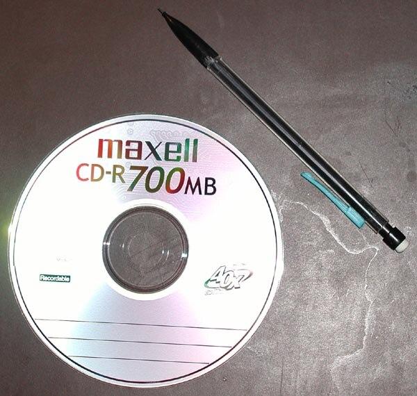 Maxell CD-R 700MB 40x 20040321