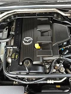 Mazda L engine Motor vehicle engine