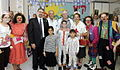 Medical clown Hilary Chaplain at Shaare Zedek hospital No.262 - Flickr - U.S. Embassy Tel Aviv.jpg
