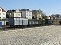 Mehere Güterwaagons Bahnhof Radebeul Ost.jpg