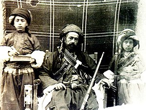 Mahmud Barzanji revolts - Mahmud Barzanji as Kurdish warlord (prior to 1919)