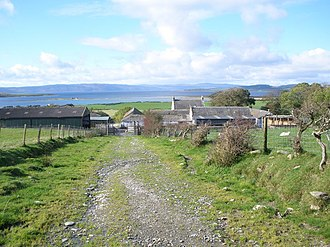County of Bute - Image: Meikle Kilmory Farm Bute geograph.org.uk 1529884