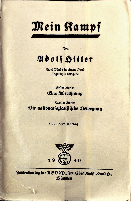 Mein Kampf - Kongreszhalle, Nuernberg