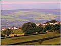 Mellor from my garden at Pall Mall Pleasington - panoramio.jpg