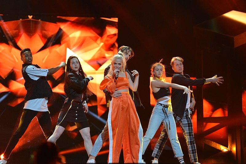 File:Melodifestivalen 2018, Deltävling 2, Scandinavium, Göteborg, Margaret, 15.jpg
