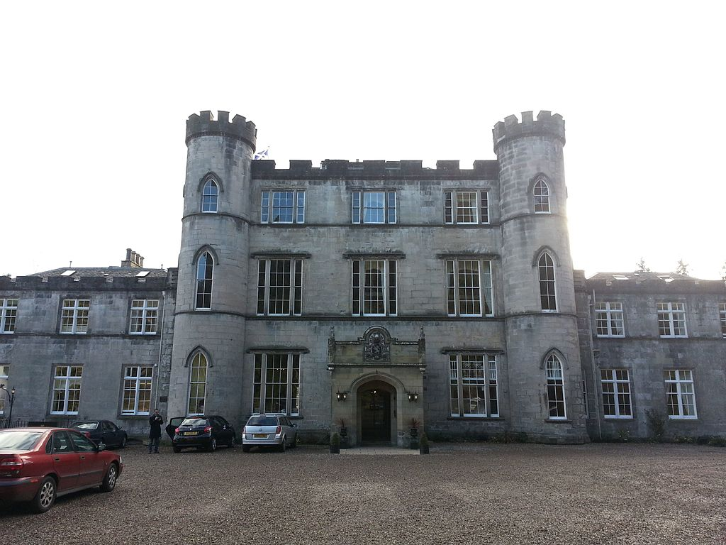 Front of Melville Castle