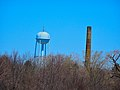 Mendota Mental Health Water Tower ^ Chimney - panoramio.jpg