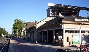 Menlo Park station - The historic station building.