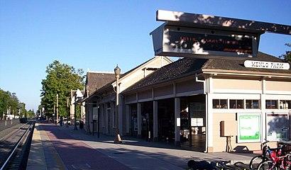 Cómo llegar a Menlo Park Caltrain Station en transporte público - Sobre el lugar