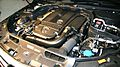 Mercedes-Benz C200 CGI BlueEFFICIENCY Station Wagon engine room.jpg