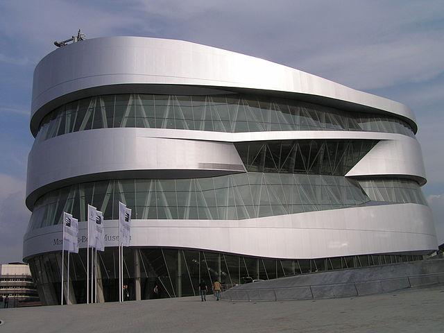Mercedes museum in Stuttgart