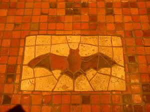 Bat Mosaic 1902 06 Rotunda Pennsylvania State Capitol Harrisburg
