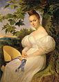 Merry-Joseph Blondel Portrait of a Woman Seated Beneath a Tree.jpg