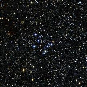 Messier 29 - The open cluster Messier 29
