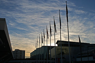 Moscone Center - Moscone Center at Sunset