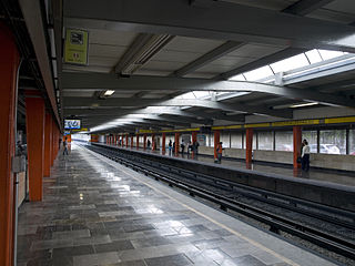 Metro Instituto del Petróleo Mexico City metro station