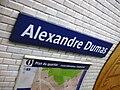 Metro de Paris - Ligne 2 - Alexandre Dumas 05.jpg
