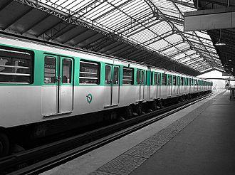 Paris Métro Line 6 - Image: Metro ligne 6
