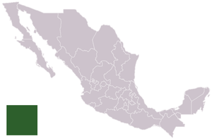 Mexican Pacific League - Image: Mexico template