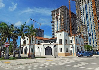 Fire Station No. 2 (Miami, Florida) - Image: Miami Fire Station No. 2
