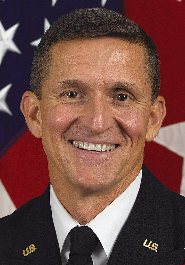 From commons.wikimedia.org: Michael T Flynn {MID-188827}