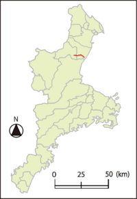 Mie Prefectural route 41 Kameyama-Suzuka Line.png