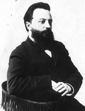 Chigorin Memorial - Mikhail Chigorin shortly before his death in 1908