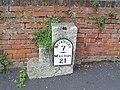 Milestone in Lund - geograph.org.uk - 673161.jpg