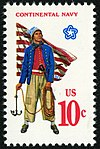Military Uniforms Continental Sailor 10c 1975 issue U.S. stamp.jpg