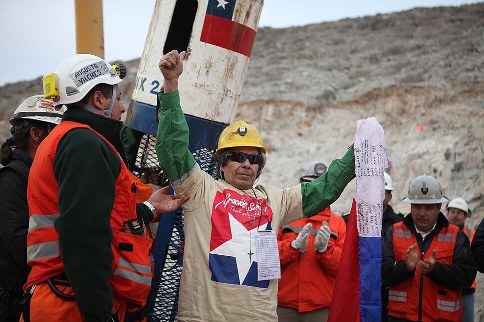 Mina San José - Mario Gómez Rescue - Gobierno de Chile