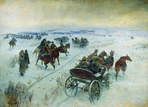 House-Museum of Mitrofan Grekov - Battle of stanitsa of Yegorlyvskaya