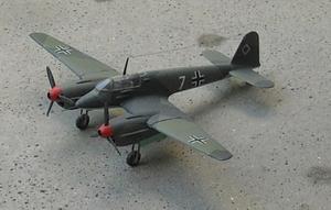 Focke-Wulf Fw 187 - Scale model of a Fw 187