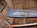 Molen Holten's Molen kap bovenas naamplaat.jpg