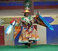 Monk Dancing at the Tibetan Losar (New Year).jpg
