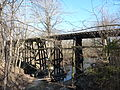 Monroe County - Victor Pike - abandoned railway - trestle - P1120764.JPG
