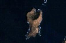 Fotografía de satélite de Montaña Clara