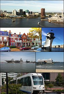 Norfolk, Virginia Independent city in Virginia, United States