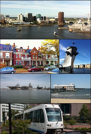 Norfolk, Virginia - Image: Montage Norfolk VAUSA