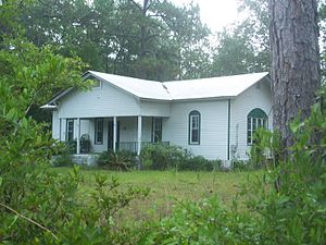National Register of Historic Places listings in Jefferson County, Florida - Image: Monticello FL Bethel School 01