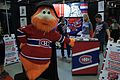 Montreal Comiccon 2016 - Youppi! at the Montreal Canadiens booth (28171564221).jpg