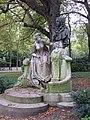 Monument à Watteau, Jardin du Luxembourg, Paris October 2015.jpg