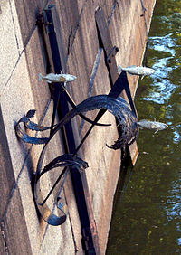 Памятник блокадной колюшке