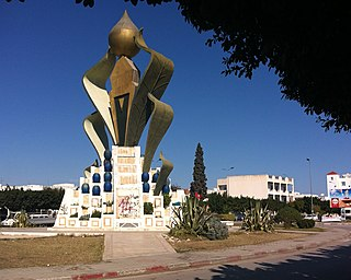 Msaken Place in Sousse Governorate, Tunisia