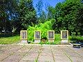 Monument to Soviet soldiers-compatriots in Ploske, Velykyi Burluk Raion by Venzz 05.jpg