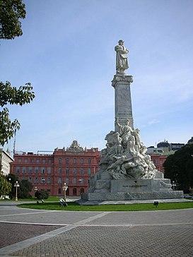 Monumento A Cristóbal Colón Buenos Aires Wikipedia La