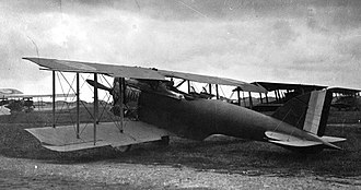 Morane-Saulnier AN - Morane-Saulnier ANL French First World War two seat fighter prototype with Liberty 400hp engine (rear quarter)