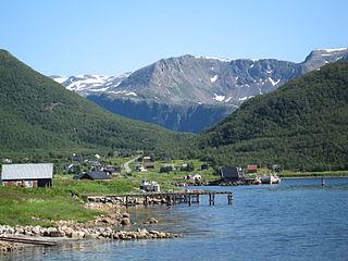 Torsken Former municipality in Troms, Norway