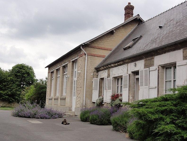 Mortefontaine (Aisne) école